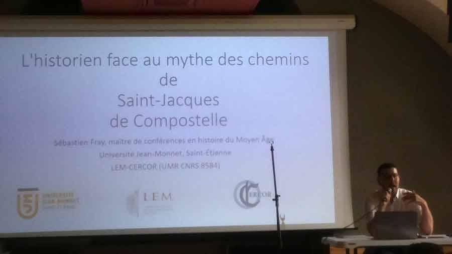 L'histoire des chemins de Saint-Jacques vue par Sébastien Fray