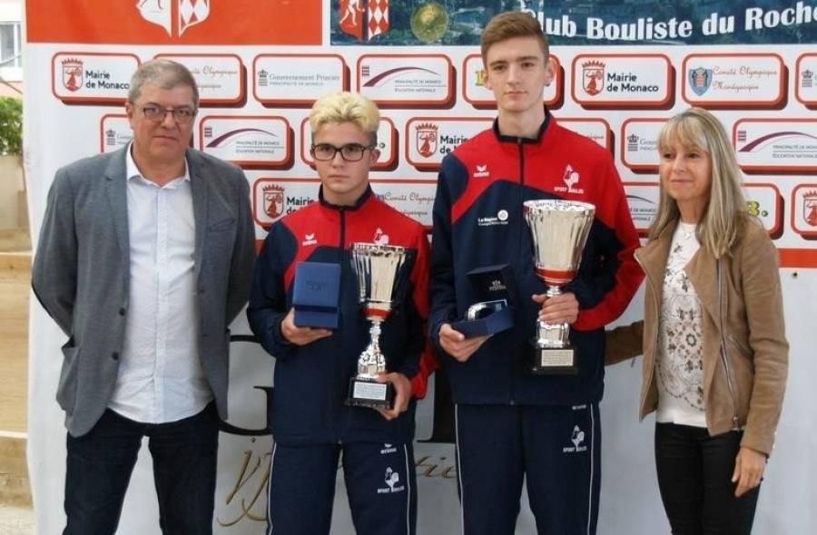 Sainte-Sigolène : deux titres pour Aurélien Souveton à Monaco avec l'équipe de France de boules lyonnaises