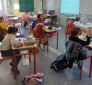 Dunières : le retour en classe des élèves de l'école Jacques-Prévert