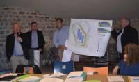Les responsables de Cintrafil ont présenté un premier pré-projet.