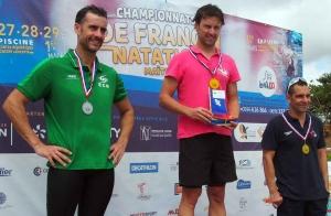 Antoine-Romain Rozwadowski double champion de France pour Marches du Velay Natation