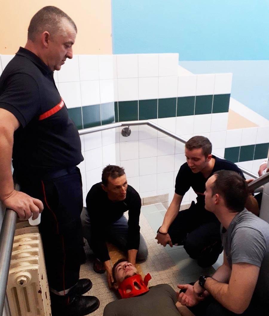 Yssingeaux : 17 maîtres-nageurs sauveteurs révisent les premiers secours