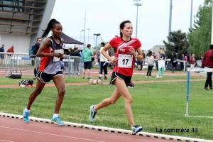 Athlétisme : Emma Bert 5e sur 3 000 m aux championnats de France