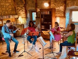 Le violoniste David Plantier et Les Plaisirs du Parnasse à la Commanderie de Devesset