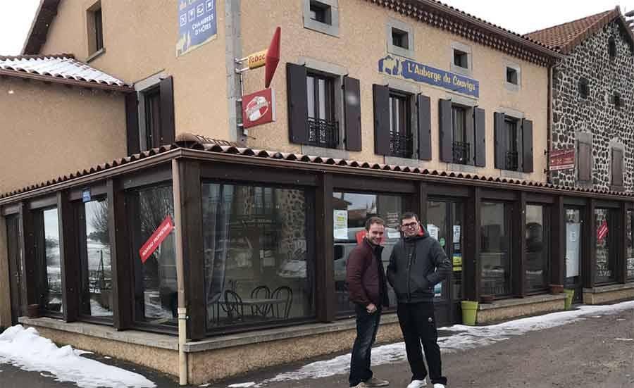 Le Bouchet-Saint-Nicolas : Fabien et Jérôme Gras reprennent l'Auberge du couvige