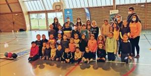 Bowling, pétanque et lyonnaise pour les enfants de Saint-Romain et Montfaucon