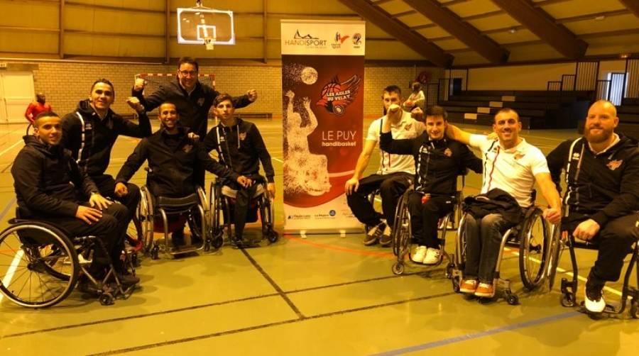 Basket handisport : les Aigles du Velay au forceps en Moselle