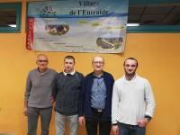Dunières : Florian Chaudier et Sylvain Souvignet remportent le concours de coinche