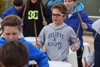 Monistrol-sur-Loire : un orchestre de percussions composé par 150 écoliers de CM2 (vidéo)