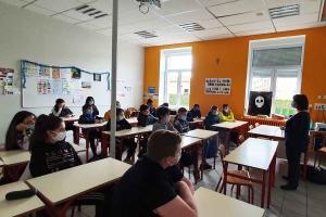 L'AGASEF intervient au collège Sacré-Coeur de Sainte-Sigolène