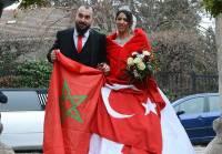Carnet blanc : Hüseyin et Malika à Saint-Maurice-de-Lignon