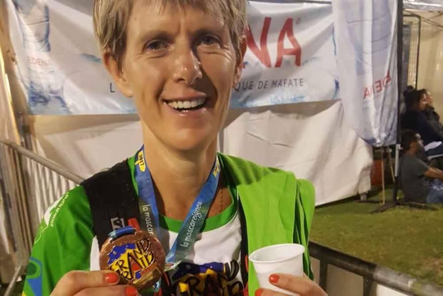 Grand Trail : Nathalie Sorlin 34e aux 65 km de l'Ile de la Réunion