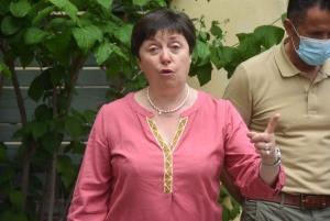 Dominique Bourgin est la responsable du Camino