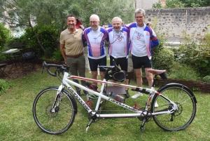 Jean-Luc Broc, Gilles Chalaye, Alain Soleilhac et Alain Crocfer