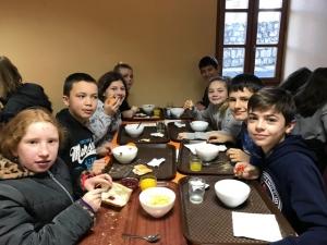 Tence : un petit-déjeuner équilibré au collège Saint-Martin
