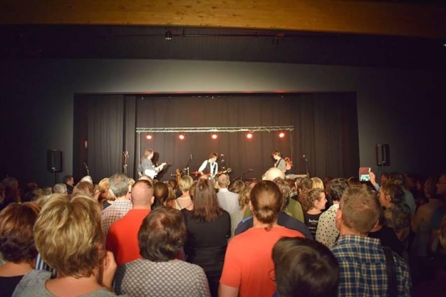 Lantriac : 550 spectateurs pour le concert de Let's Goldman