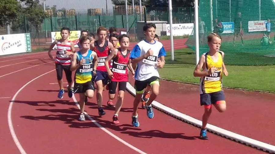 Loan Roupie a parcouru les 1 000 m en 3'08' pour décrocher le titre