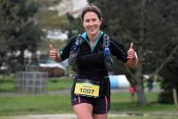 Aurélie Rochon, de Saint-Jeures, termine 2e chez les féminines sur le 24 km.