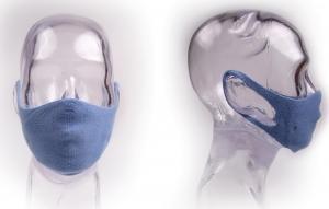 Les Villettes : Bonnefoy Créations homologue un masque tricoté pour les professionnels