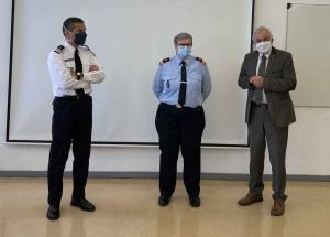 Pompiers : Jean-Pierre Marcon officiellement installé président du SDIS 43