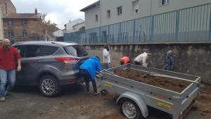 Yssingeaux : 50 plants de bambous plantés dans la cour de l'école Saint-Gabriel