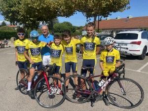 Cyclisme : l'école de route du Vélo Club du Velay se distingue au grand prix d'Ardoix