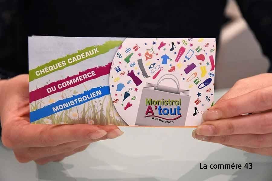 Faites plaisir avec les chèques cadeaux des commerçants de Monistrol-sur-Loire