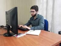 """Baptiste Crouzet aux Olympiades des métiers en """"web design"""""""
