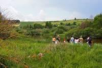 Deux voix et quatre mains pour découvrir la nature à l'étang des Barthes de Freycenet-Latour
