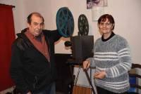 Guy Vanuxem et Odette Meng.