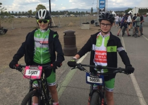 VTT : les jeunes de l'UC Puy-en-Velay sur le Roc'Azur