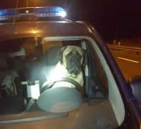 Un chien se retrouve au volant d'une voiture de gendarmerie