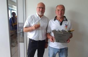 Yssingeaux : l'heure de la retraite pour Joseph Joubert à l'entreprise Fayolle