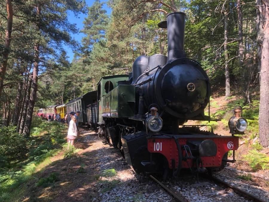 Le Chambon-sur-Lignon : le train touristique Velay Express déraille