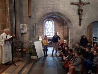 Les écoliers de Vorey et Retournac célèbrent Pâques ensemble