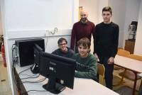 Aurec-sur-Loire : des collégiens jouent les apprentis informaticiens