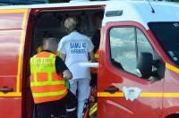 Saint-Vincent : un jeune cycliste perd l'équilibre et heurte une voiture arrivant en face