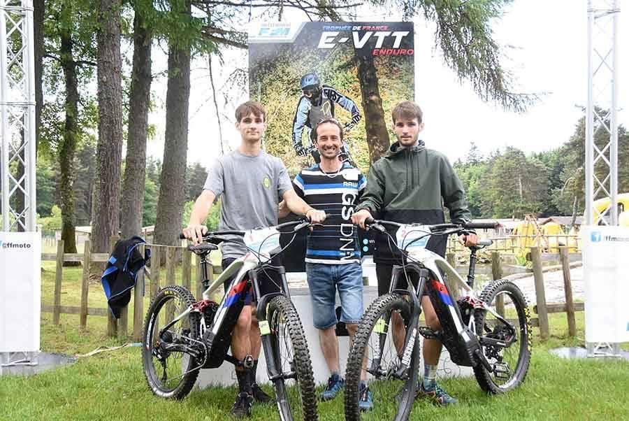 VTT électrique : les frères Lambert prennent une sérieuse option à Tence