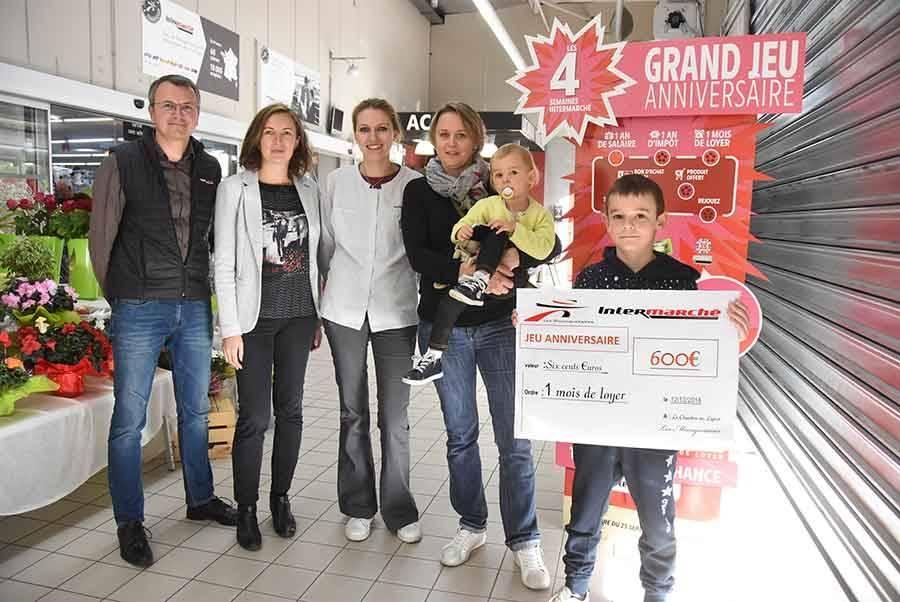 Le Chambon-sur-Lignon : elle gagne un mois de loyer grâce à Intermarché