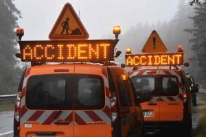 RN88 : trois nouveaux accidents mardi matin à Pont-Salomon et Saint-Ferréol-d'Auroure