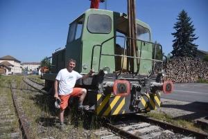Dunières : un locotracteur débarque sur le Vélorail du Velay (vidéo)