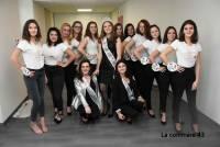 Les candidates de Miss Saint-Agrève