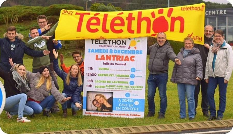 Lantriac : des associations se fédèrent pour le Téléthon