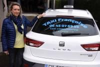 Françoise Carrot se met à son compte comme artisan taxi à Sainte-Sigolène et Monistrol
