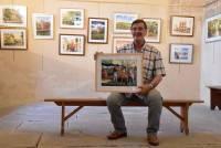 Saint-Julien-Chapteuil : les aquarelles de Jean-Luc Faure à retrouver dans la crypte
