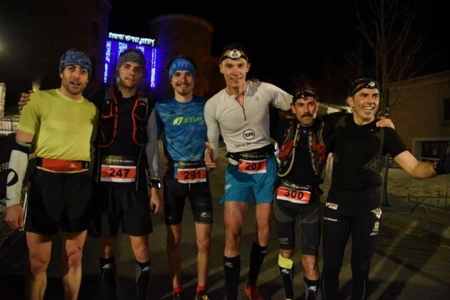 Les premiers des 20 km. Photo Lucien Soyere