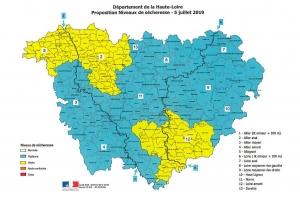 Trois secteurs de la Haute-Loire passent en alerte sécheresse