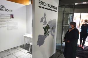 Une attachante exposition hommage à Erich Schwam et son épouse à découvrir en mairie du Chambon