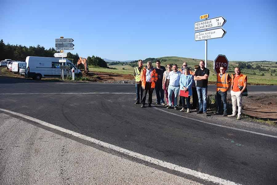Araules : le carrefour accidentogène de la Départementale 15 en cours de modification