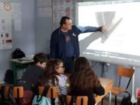 Retournac : prévention « Voyageur et Citoyen » à l'école Arc-en-Ciel